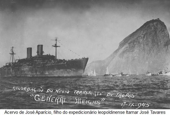 General Meighs, o navio que transportou tropas brasileiras na Segunda Guerra Mundial