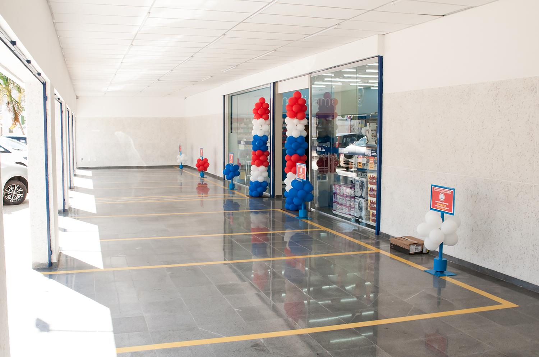 Estacionamento privativo para os clientes